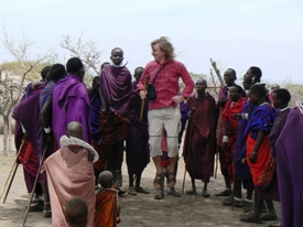 High jumps with Masai