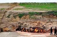 Yanar Dag, natural gas fire in Azerbaijan