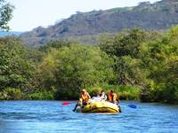 Rafting in Opala river