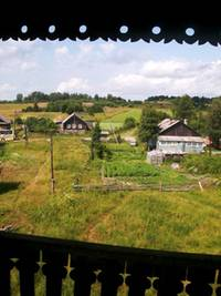 Karelian village, view from belltower