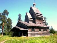 Karelia, St. George Church, 1496