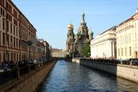 St. Petersburg Church on the Split Blood