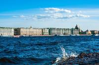 St. Petersburg Neva embankment