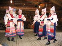 Karelia, Veps national dancers