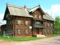 Vep's museum in Sheltozero village